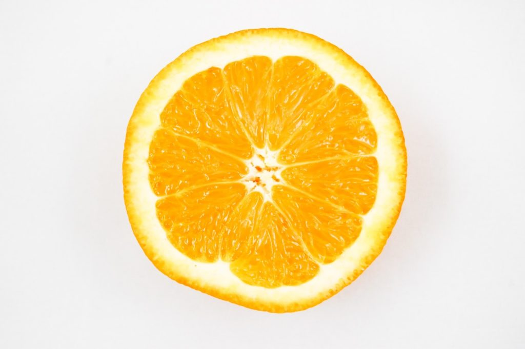 Orange slice food to eat while pregnant